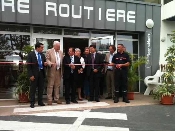Inauguration de la gare routière de Saint-Jean-de-Monts