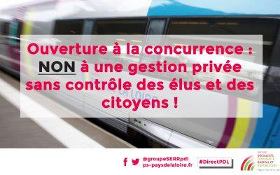 Ouverture à la concurrence du transport ferroviaire : la Région se met dans la main des grands groupes du secteur du transport.